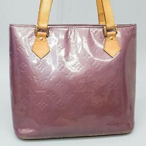 LOUIS VUITTON HOUSTON Shoulder Bag Purse Monogram Vernis M91093 Violet