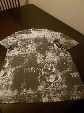 New mens white and grey true religion buddah logo tshirt size 2x