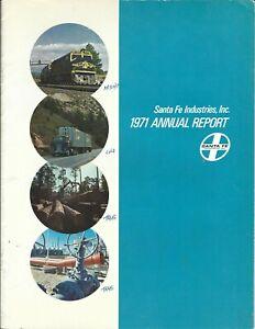 Annual Report - Santa Fe Industries - 1971 - Railroad Natural Resources (AR84)