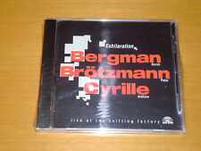 Borah Bergman / Peter Brötzmann / Andrew Cyrille – Exhilaration ( SIGILLATO)