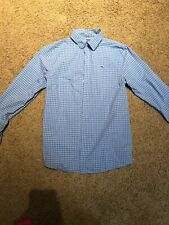 Vineyard Vines Boys Whale Dress Shirt L 16