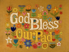 God Bless Our Pad Masterprint - 11x17