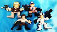 Set of Four - HAN SOLO - LFL Hasbro Galactic Heroes Star Wars Toy Figure