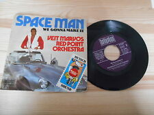 """7"""" Pop Veit Marvos Red Point Orch. - Space Man (2 Song) BELLAPHON"""