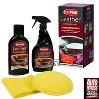 CarPlan Leather Connoisseur Renovator Kit-Upholstery Cleaner Restorer Protector