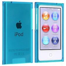 Case Hard Case Cover Protection Blue Crystal Ipod Nano 7G 7 G+Film