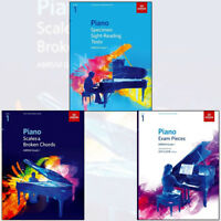 Piano Specimen Sight-Reading Tests, Grade 1 ABRSM Collection 3 Books Set Pack