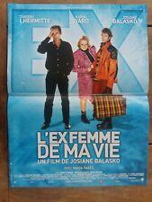 Affiche L'EX FEMME DE MA VIE    thierry lhermite   josiane balasko   40x60cm *