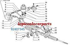 82407345 Tassello Scatola Guida Lancia Delta Turbo Diesel  Originale