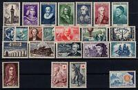 PP128057 / FRANCE / LOT 1955 MNH ** CV 220 $