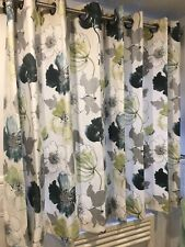 Lined Single Curtain With Eyelets