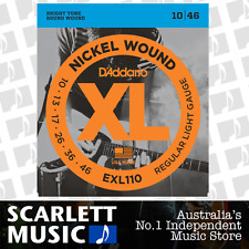 D'Addario EXL110 Regular Light Electric Strings 10-46 Daddario EXL-110