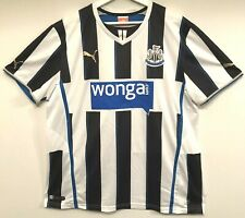 Newcastle United Shirt Size XL Home Football Top With No Number On Back
