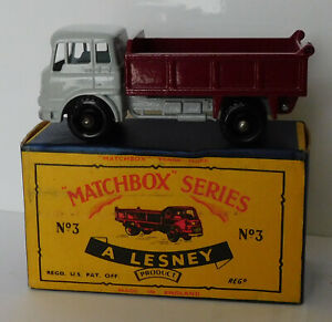 Matchbox Moko Lesney Cars, Regular Wheels, 3b Bedford Tipper Truck