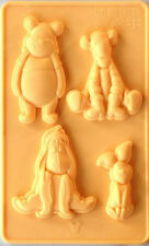 Pooh & Friends Silicone Mold 4 different cavities