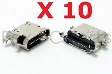 10X USB Charging Data Sync Port for ZTE Imperial Max 4G Z963U Duo LTE Z963VL OEM