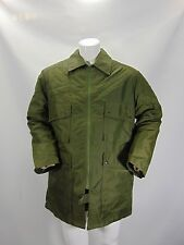 MILITARE MILITARY Jacket Uniform Parka Cappotto Trench Coat Tg L Man Uomo G10
