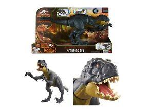 Jurassic World Camp Dino Escape Slash 'N Battle Scorpios Rex *Same Day Dispatch