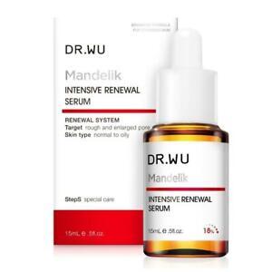 DR.Wu Mandelik Intensive Renewal Serum with Mandelic Acid 18% 15ml New In Box