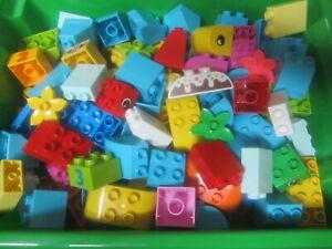 40 LEGO DUPLO STEINE BAUSTEINE SONDERSTEINE BLUMEN MOTIVSTEINE TOP STARTER NEU