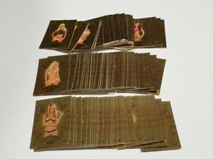 2007 benchwarmer gold edition 100 x cards bench warmer