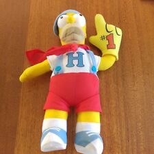 "Homer Simpson Plush Toy 15"" 38cm 2011"