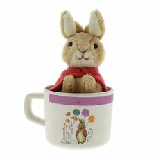 Beatrix Potter caractère organique et mug Soft Toy Set-Peter Ou Flopsy Lapin