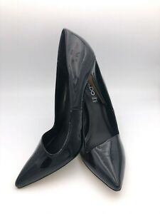 ALDO Stiletto Black Patent Leather Heel Size 10