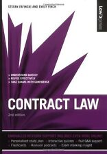 Law Express: Contract Law (Revision Guide),Stefan Fafinski, Emily Finch