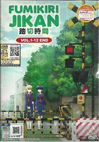 FUMIKIRI JIKAN - COMPLETE ANIME TV SERIES DVD BOX SET (1-12 EPIS)