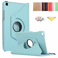 360 Rotating Case Stand Leather Cover For Samsung Tab T290/T510/T580/T550/T377