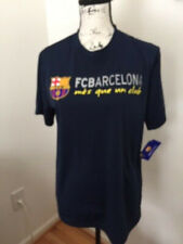 NWT FC Barcelona Men's T- Shirt. Navy. Size:M/M. Label of Assurance of Authentic