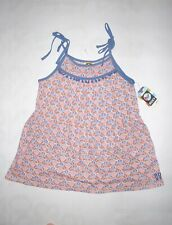 NWT Roxy girl's XL pink and blue flared tank top