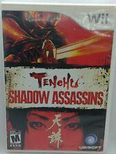 Tenchu: Shadow Assassins (Nintendo Wii, 2009) FREE SHIPPING IN CANADA.