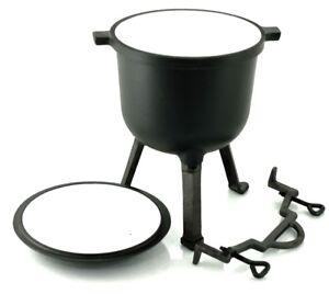 CAST IRON STOCK POT Cauldron Hunters POT - 8 l