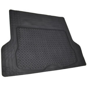 Black Rubber Trunk Mat for Cars Universal Trim to Fit Liner for Toyota 4Runner