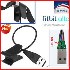 Fitbit Alta Watch Tracker USB Charging Cable Charger Cord Wire With Reset Button