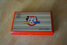 Nintendo Game & Watch Mickey & Donald Handheld Electronic Dual Screen 1982