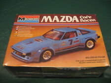 Vintage 1981 Monogram Mazda RX-7 Cafe Racer 1/24 Scale Plastic Model Kit RARE!!!