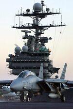 F-14 Tomcat Uss Harry S.Truman Uns, Marine 8x12 Silber Halogen Fotodruck