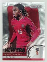 2018 Panini Prizm World Cup Renato Sanches New Era Prizm Card