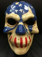 THE PURGE FACE PLASTIC USA MOVIE FANCY DRESS UP MASK CHILD ADULT ELECTION YEAR 3