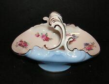 Royal Doulton Floral Posy Basket Gilt - Perfect