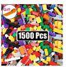 M BLOCCHI COSTRUZIONI MATTONCINI 250-1500 PEZZI TIPO LEGO GIOCATTOLI IDEA REGALO