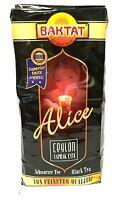 Baktat Alice Schwarzer Tee mit Bergamotte Aroma - Alice Bergamont Cay 500g