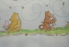 Classic Pooh Best Friends Fabric Springs Industries Pooh Large Border 1 YD 33 IN