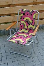 Vintage DDR Campingstuhl Klappstuhl Angler Stuhl N2