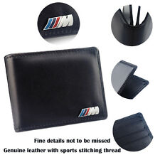Leather Licence Bag M Performance Emblem Card Storage Case For BMW E53 F15 F16