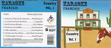 Karaoke CD+G Country Francais Vol. 1  CDG BRAND NEW at MusicaMonette from Canada