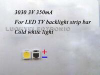 100pcs/lot 3030 350MA SMD Lamp Beads LED Bulb for LED TV Backlight Strip Repair